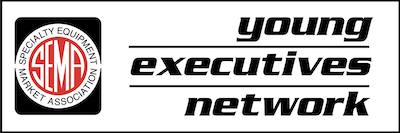 Young Executives Network (YEN) logo in black and white